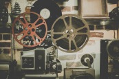 projector, 16mm